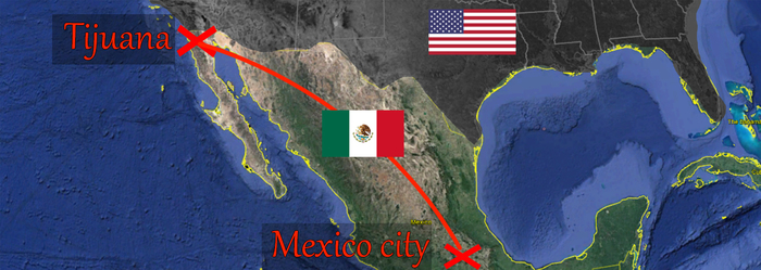 Как нелегально пересечь границу США, не сдохнуть в процессе и написать об этом на Пикабу. США, Мексика, Граница, Гифка, Длиннопост, Без рейтинга