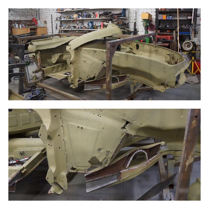 Реставрация Мерседес 190SL W121 Мерседес, Реставрация, Длиннопост, Drive2