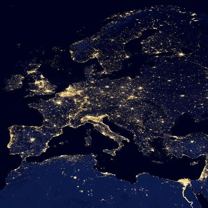Огни Европы