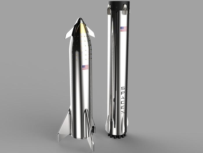 Почему новая сверхтяжелая ракета от SpaceX будет из железа,а не алюминия или углеволокна. Космос, Новости, Илон Маск, Ракета, Bfr, Технологии, Длиннопост, Нержавейка