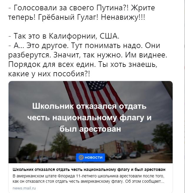 Рыжым лютуе. США, Россия, Политика, Скриншот, Честь, Национальный флаг, Ситуация