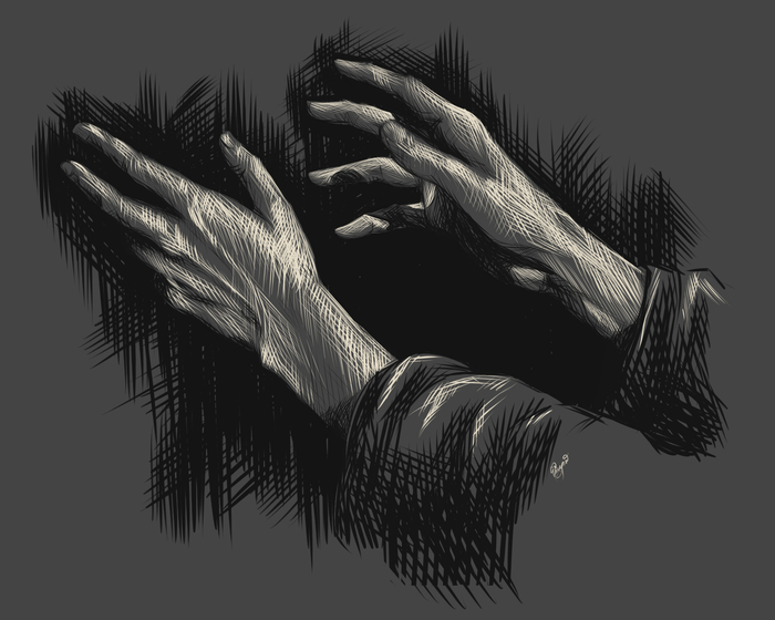 Руки Рисунок, Руки, Цифровой рисунок