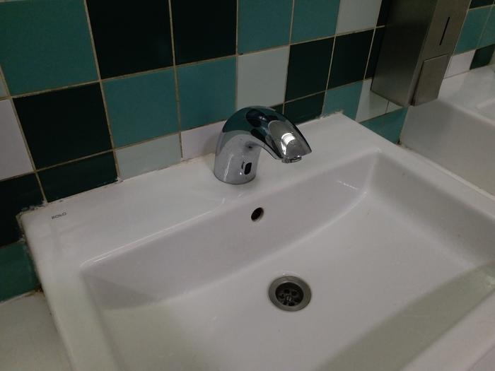 Кран без ручек для помывки ручек Кран, Сенсор, Туалет