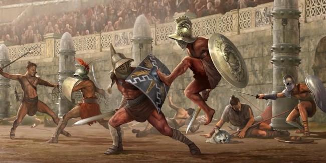 Восстание Спартака в Древнем Риме. Древний Рим, Гладиатор, Спартак, Длиннопост