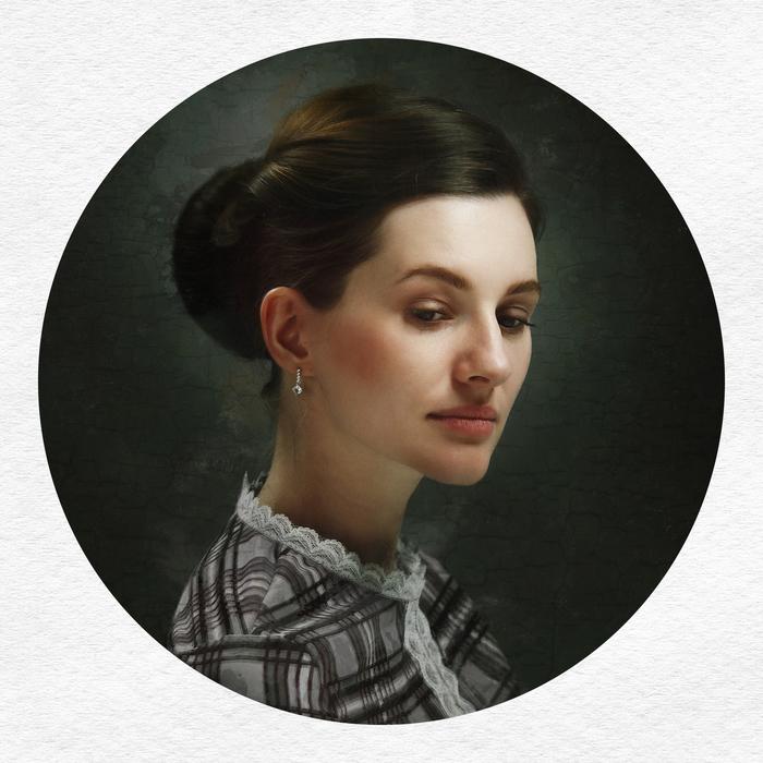 Портреты Фотография, Стилизация, Живопись