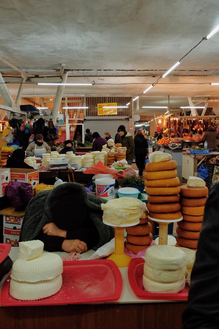 Зелёный базар в Кутаиси Грузия, Рынок, Путешествия, Длиннопост, Фотография, Кулинария, Еда