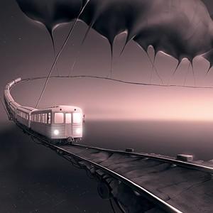 Фантастические миры Алексея Андреева Арт, Рисунок, Сюрреализм, Длиннопост, Подборка, Alex Andreev
