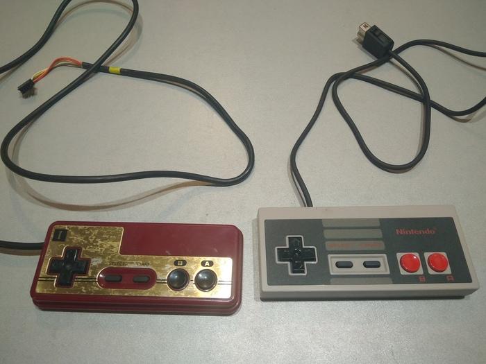 О внимании к деталям или как я старый геймпад к новой приставке подключал Игровая приставка, Nes classic mini, Famicom, Snes Mini, Super Mario, Ретро-Игры, Nintendo, Видео, Длиннопост