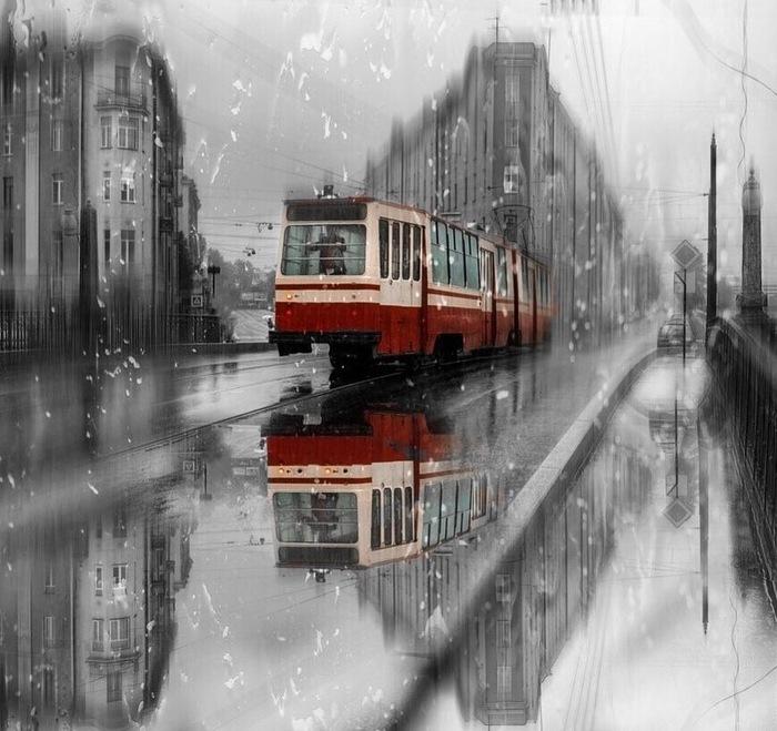 Питерское настроение Санкт-Петербург, Дождь, Настроение