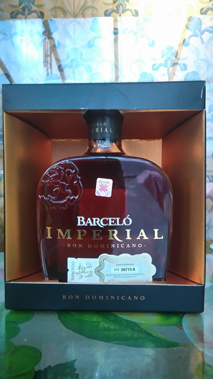 Barcelo Imperial - ром, который меня соблазнил Алкоголь, Ром, Длиннопост