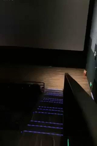 Два лучших места в кинотеатре