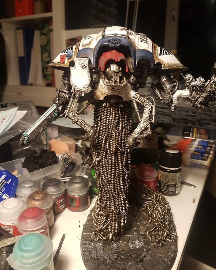 Imperial Knight Wh miniatures, Imperial Knight, Warhammer 40k, Miniatures