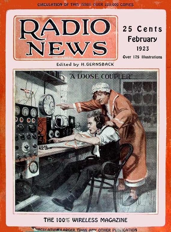 В 1923 году мамки тоже оттаскивали сынуль от чатиков.