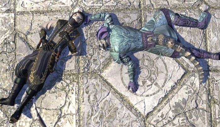 Игрок в TESO каждую ночь заходит в игру, чтобы... поспать The Elder Scrolls, The Elder Scrolls Online, MMORPG, Игры, Аргониане, MMO, Видео, Гифка, Длиннопост