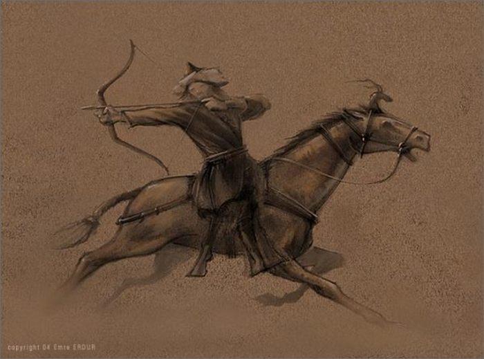 Гуннский воин Гунны, Мумия, Курган, Лук, Вооружение, Древности, Алтай, Длиннопост
