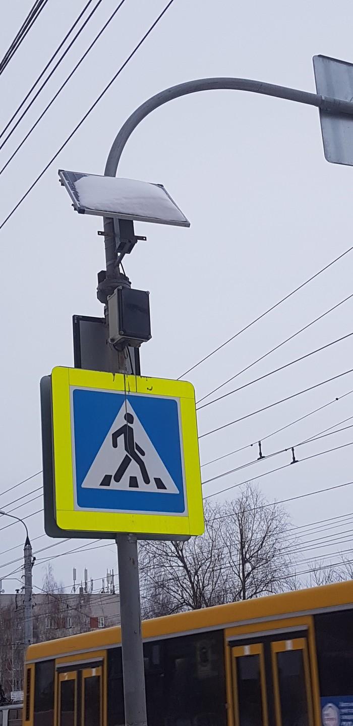 Трудности научно-технического прогресса в России. Солнечная батарея, Снег, Хреновая погода