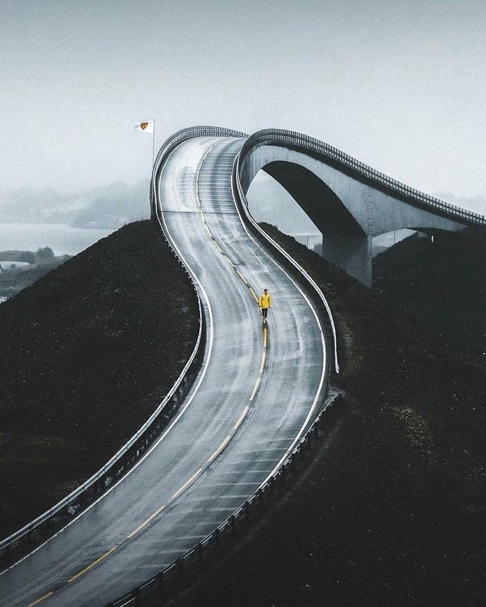 Атлантическая дорога Атлантическая дорога, Норвегия, Фотография