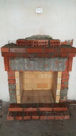 Главное чтобы камин не дымил Камин, Своими руками, Строительство и ремонт, Длиннопост