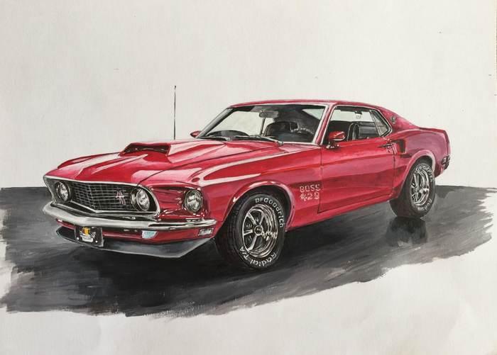 Boss Mustang 429
