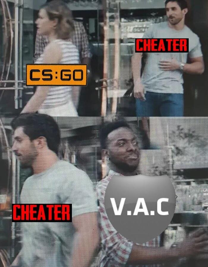 Вся суть Counter-Strike, CS:GO, Valve, Vac BAN