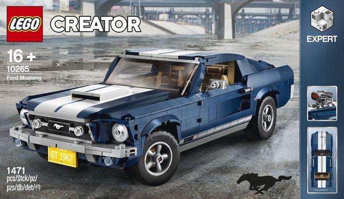 Новый набор в серии классических автомобилей LEGO 10265 Ford Mustang LEGO, LEGO creator, Ford Mustang, Модели, Авто, Длиннопост