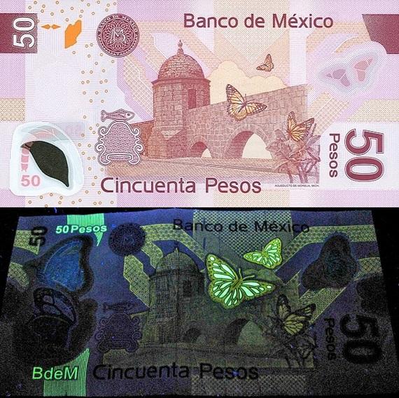 Посмотрим на деньги в другом спектре 2 Банкноты, Бабочка, Ультрафиолет, Длиннопост