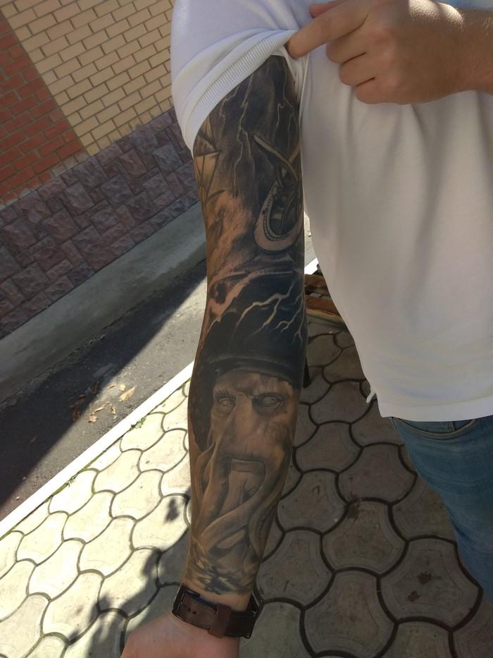 Разные стили татуировки на одном теле Лига любителей татуировки, Реализм