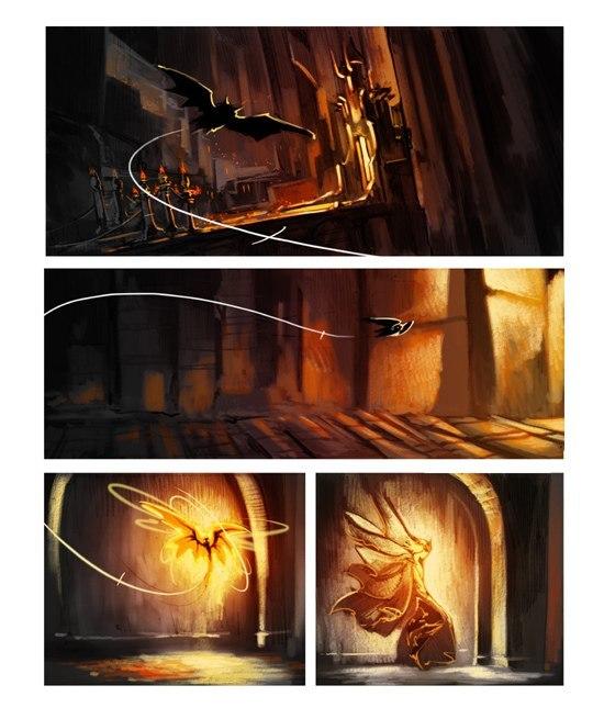У царя тьмы украли камень. Phobs, Комиксы, Толкин, Сильмариллион, Длиннопост