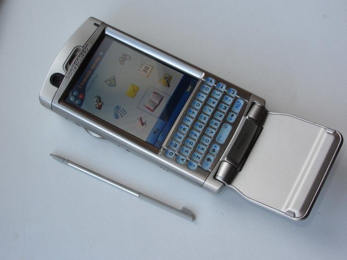 Интересная ретро находка! Мобильный коммуникатор из 2000-х Sony Ericsson P990i Смартфон, Мобильные телефоны, Кпк, Sony Ericsson, Symbian, Видео, Длиннопост