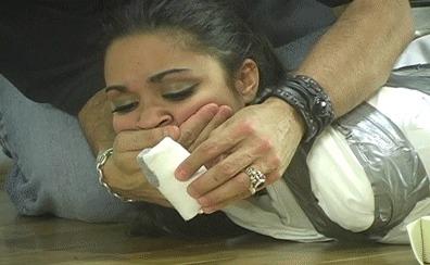 Michelle Cortez Бондаж, Связывание, Мумификация, Гифка, Уголок извращений 18+
