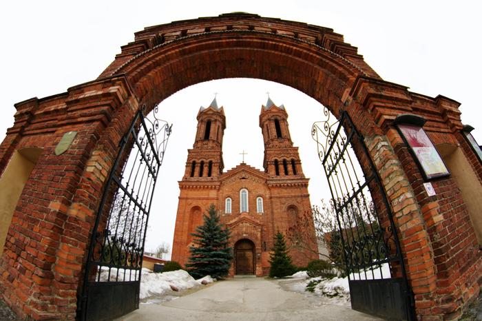 Собор Святой Варвары в Витебске Фотография, Собор, Витебск, Фишай