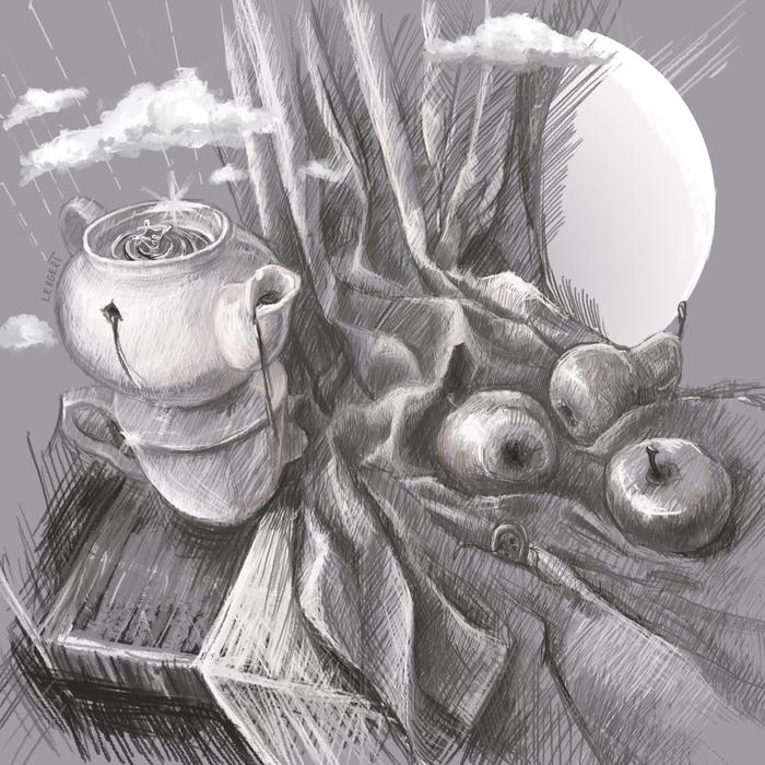 """""""Навеянное бессонницей"""" Сюрреализм, Цифровой рисунок, Натюрморт, Рисунок, Рисунок на планшете"""