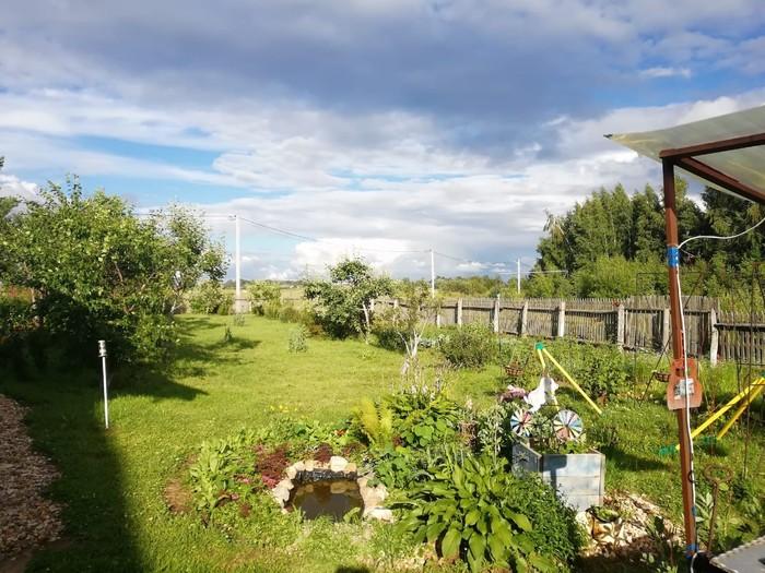 Мой домик в деревне. Деревня, Дом, Спокойствие, Красота природы, Длиннопост