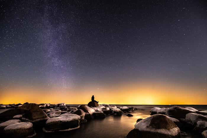 Мечтатель Фотография, Астрофото, Ночь, Планеты и звезды, Пейзаж, Красота природы