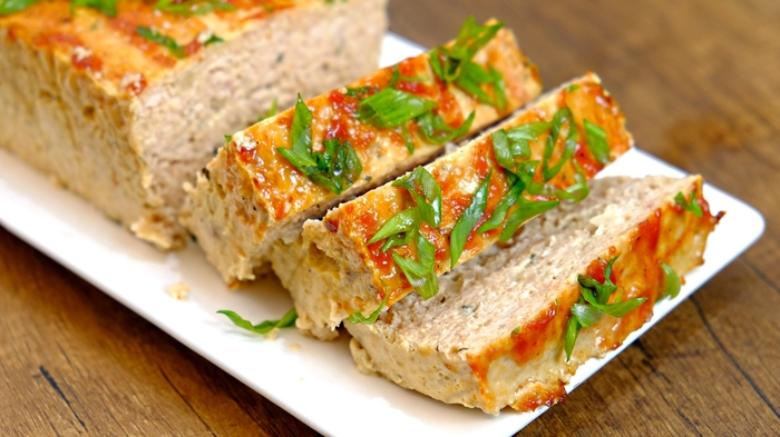 Куриный террин с кетчупом в духовке Курица, Рецепт, Еда, Видео, Длиннопост, Фарш