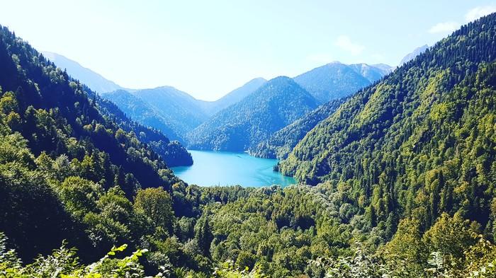 Горы Абхазии Горы, Абхазия, Путешествия, Фотография