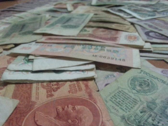 Жена нашла бабушкину заначку. Деньги, СССР, Рубль, Длиннопост