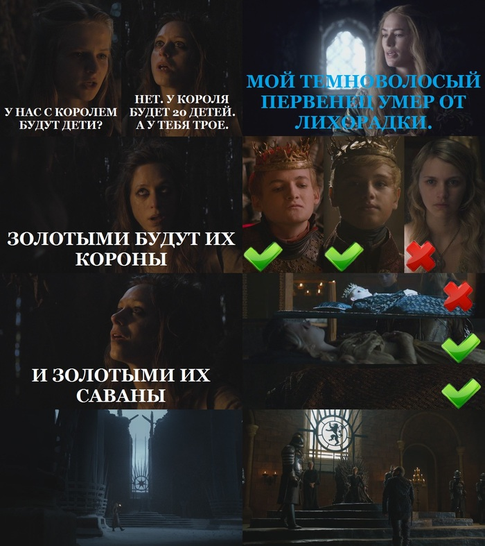 Предсказания и видения будущего в сериале.