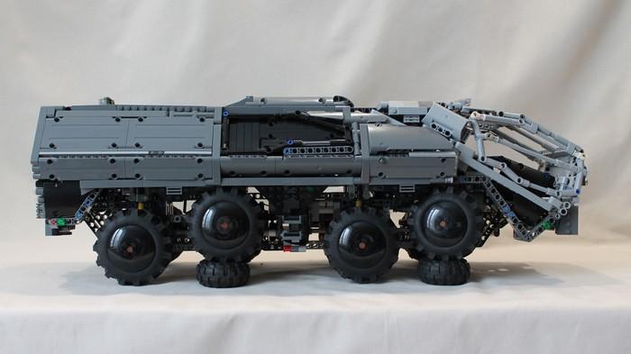 Prometheus RT01 Transport (лего самоделка) LEGO, LEGO technic, Prometeus, Видео, Длиннопост