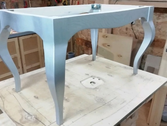Вопрос мебельщикам Мебель своими руками, Ножки кабриоль