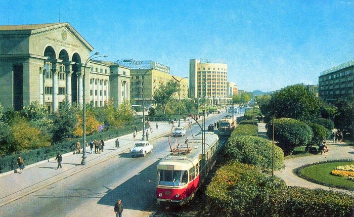 Свердловск 1973 год Свердловск, СССР, Историческое фото, 70-е, Длиннопост