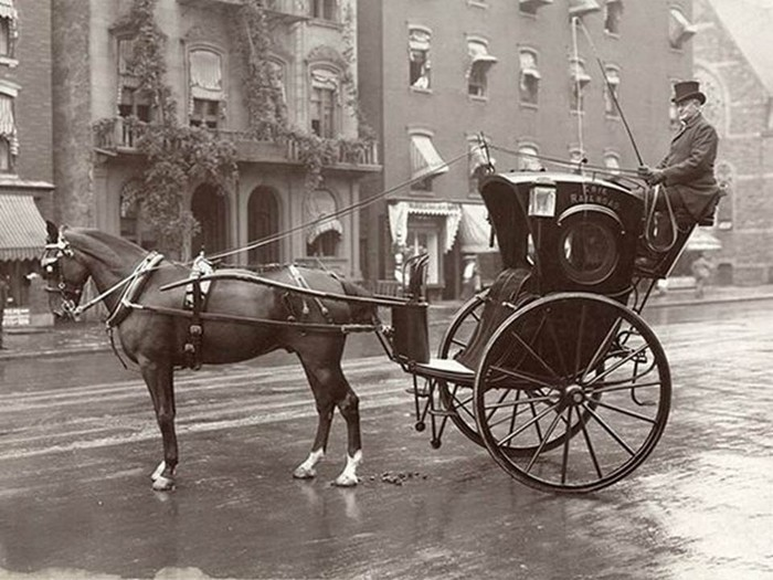 Нью-Йоркское такси, 1905 год