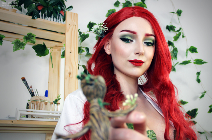 Poison Ivy Poison Ivy, Ядовитый плющ, DC, Косплей, Комиксы, DC Comics, Длиннопост