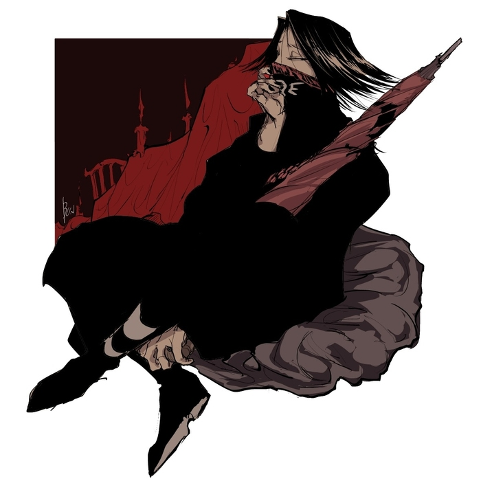 Anime art Аниме, Anime Art, Hunter X Hunter, Feitan