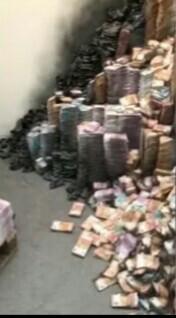 Обгоревшие тонны денег на столичном складе связали с делом Арашукова Деньги, Пожар, Склад