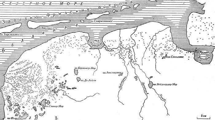 Как голландцы отвоевали у моря свою страну. Голландия, Дамбы, Плотины, Длиннопост