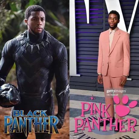 Чёрная пантера - Розовая пантера
