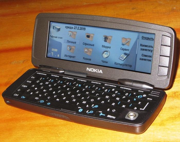 Коммуникатор Nokia 9300i личный опыт + история моих мобильных телефонов Nokia, Sony Ericsson, Psion, Кпк, Windows Mobile, Symbian, Длиннопост
