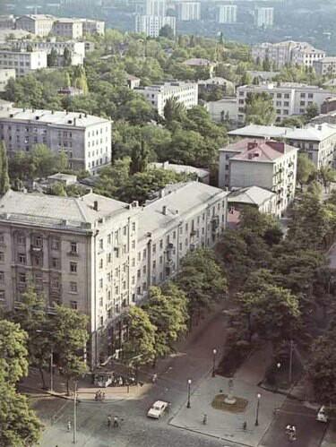 Днепропетровск 80-е годы Днепропетровск, СССР, 80-е, Историческое фото, Длиннопост