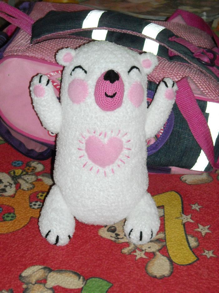 Мишка с картинки Игрушка по картинке, Медведь, Рукоделие без процесса, Вязание, Длиннопост